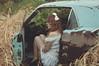 (yyellowbird) Tags: selfportrait abandoned girl car illinois junkyard cari