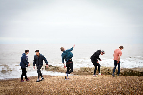 Re-edit :) polar collective throwing stones.