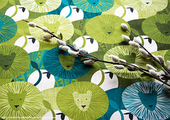 Leopold & Lucy (Spellstone) Tags: green illustration design march lucy spring artist folkart pattern sheep drawing linen contest lion craft surfacedesign textile fabric cotton quilting lamb leopold textiledesign patterndesign fabricdesign 2013 alexmorgan spoonflower spellstone society6 fabriccollections leopoldandlucy