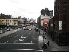 """High Line Theatre over street • <a style=""""font-size:0.8em;"""" href=""""http://www.flickr.com/photos/59137086@N08/8543704896/"""" target=""""_blank"""">View on Flickr</a>"""