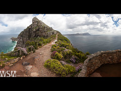 CapePt_LowerLthouse-lookingback_flickr (Wizum) Tags: africa park travel nature southafrica nationalpark capetown capepoint westernprovince 2012 southafrican westerncape southernhemisphere toursit
