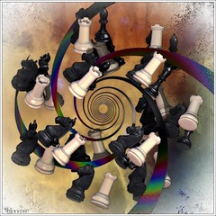 chess anyone? (bloorose-thanks 4 all the faves!!) Tags: abstract art digital 3d render chess fractal incendia