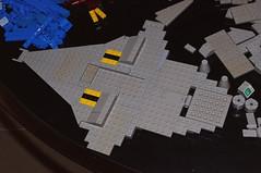 Lego Space - Set 497 Galaxy Explorer (InSapphoWeTrust) Tags: lego 928 497 legospace galaxyexplorer spacecruiserandmoonbase