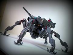 Takemikazuchi (/>ylan/>.) Tags: sky 6 anime grey tank lego legs no awesome wwii sound ra wo sora mecha mech takemikazuchi woto