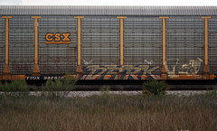 (BCalico) Tags: dark graffiti graff freight