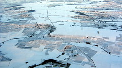 More quilty goodness (oobwoodman) Tags: schnee winter snow germany deutschland hiver champs aerial fields farms neige allemagne lufthansa acker luftphoto luftaufnahme aerien fermes blrfra