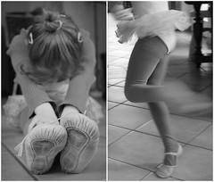 Dancing Beginnings. (Emmy Ze) Tags: ballet girl beautiful children kid movement child dancing little sweet sister gorgeous small young fast mdchen tutu ballett