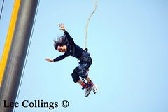 Jumping For Joy (Yorkshire Pics) Tags: people fall happy falling bungeejump jumpingforjoy bungeejumping jumpforjoy