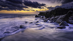 Dusk of Seseh (eggysayoga) Tags: bali motion twilight nikon dusk wide hard wave tokina 09 lee nd graduated uwa gnd canggu seseh 1116mm indonesiasunset d7000
