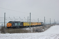 IMG_8281 (Class313) Tags: snow rail class east hyde 37 services direct drs 37609 37601 3z03