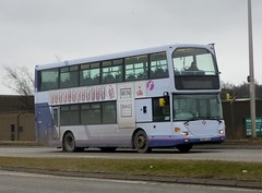 36012 - SN05 HXB (Cammies Transport Photography) Tags: bus station way scotland coach edinburgh first east 27 ratho scania bathgate 36012 ominidekka sn05hxb linkston