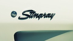 stingray (eFB) Tags: typography miami stingray chrome 1968 corvette southbeach corvettestingray chromeography 68stingray