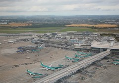 Dublin Airport,  Ireland (Flame1958) Tags: travel ireland dublin atc ramp aircraft flight terminal aeroplane airbus flights dub a320 dublinairport piera terminal2 terminal1 airtrafficcontrol 0811 2011 baileathacliath daa airportterminal airportparking 010811 airporttraffic eidw pierd pierb airportramp dublinairportauthority