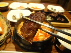 Beef! @Qiannen, Gubei, Shanghai (Phreddie) Tags: china food hot restaurant yum shanghai beef meat delicious eat spicy tang koran gubei doufu 130324 jjiae qiannen