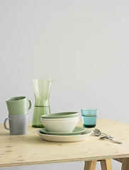 Teema And Kartio on Table (Dinner Series) Tags: green design finnish iittala dinnerware glassware origo teema didriks