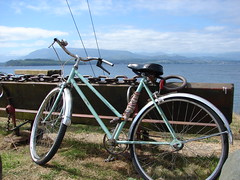 Sointula Bike (Joli from the North) Tags: vancouverisland sointula malcolmisland vancouverislandnorth