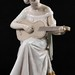 177. Lladro Figural of Woman with Guitar