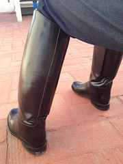 TALL BOOTS PT III (JHshoelover) Tags: black sexy leather boot shiny boots footwear cop tall botas fetiche clazado uploaded:by=flickrmobile flickriosapp:filter=nofilter