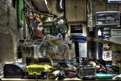 Time to Clean Up the Workbench (k.landerholm) Tags: home minnesota shop entropy mess flickr tools workshop twincities hdr workbench d800 applevalley 5xp