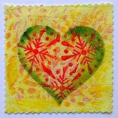 Stencil Ideas using Wooden Printing Blocks (Colouricious) Tags: heart designs textileart blockprinting heartart stencilideas woodenprintingblocks blockprintingdesigns woodprintingblock