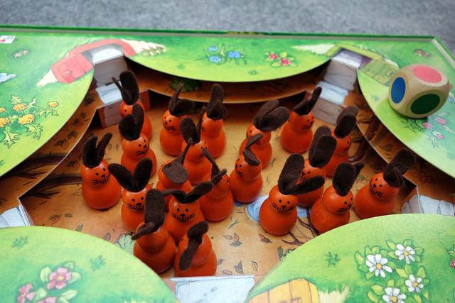 セレクタ社ボードゲームウサギのニーノ