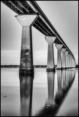 Thomas Johnson Bridge -Solomons Islands (pyrospawn) Tags: bw canon islands is maryland l usm ef f4 solomons monocrhome 24105mm singhray canon6d varinduo