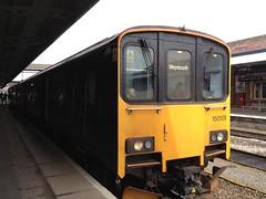 First Great Western - Class 150 - 150108 (MadAboutTrains) Tags: diesel hill great first class 150 western multiple shrub 108 worcester unit dmu sprinterweymouth