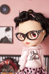 Tell me about it, stud. (Cherryta) Tags: pink ladies me vintage hair movie glasses tell brian it polka retro grease musical curly wilson cape oh jukebox about 50s dots rement stud melina adg kozy rement