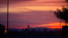Naranja (Krynowek Eine) Tags: sunset mxico atardecer mexicocity df warm raw metro naranja morelos distritofederal ciudaddemxico lnea4