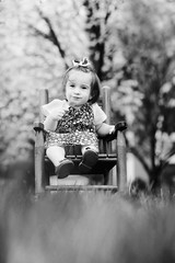 EE's 1st Sucker BW (SLewis Photography) Tags: spring blossoms 17months kiddos april2013 saralewisphotography wwwsaralewisphotographycom