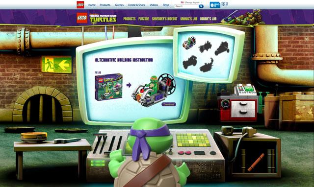 樂高 多納太羅的實驗室 忍者龜系列新玩法