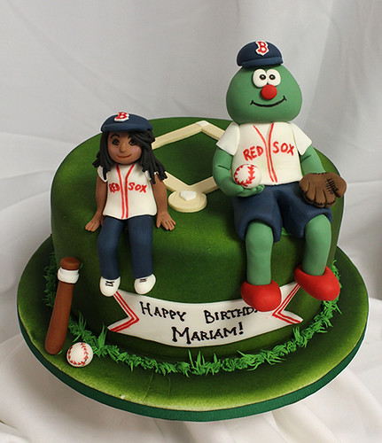 Wally Red Sox bday cake
