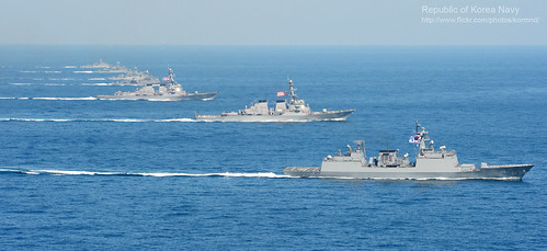 2013. 3. 2013 해상전투단 연합훈련 Republic of Korea Navy Maritime battle group Combined Exercises ('13 Key Resolve Exercise)