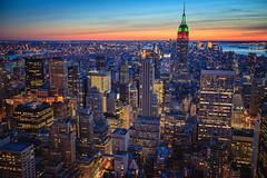 A State of Mind (Sean Davis) Tags: nyc newyorkcity sunset fav50 empirestatebuilding hdr fav25 fav100 fav150 fav75 fav125