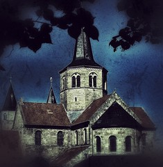 The Old Church (motreo) Tags: church romanesque hildesheim romanisch mygearandme photographyforrecreation ruby5 rememberthatmomentlevel1