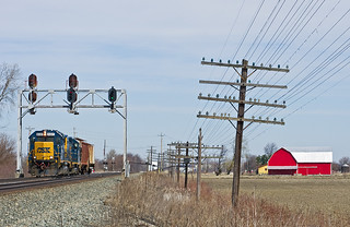 CSXT 6441, CSX Pemberville Subdivision, Longley, Ohio