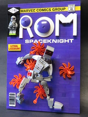 Rom Comic-Brick Upgrade #3 (monsterbrick) Tags: comic lego marvel rom upgrade moc spaceknight lilbrickschoolhouse comicbrick