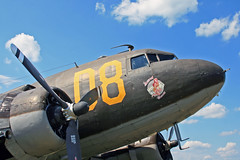 Looking at and Admiring a Nice Lady - Douglas C-47 (N15SJ) (dlberek) Tags: nose secondchance skytrain dakota douglasc47 n15sj