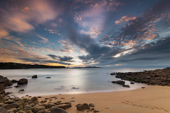 Playa de Nuestra Seora (jojesari) Tags: 12514 playadenuestraseora alanzada sanxenxo pontevedra galicia jojesari suso ocaso puestadesol solpor atardecer sunset