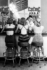Senator Hotel, Atlantic City, 1948. Photographed by Nina Leen (La Poubelle) (Pethit) Tags: black white woman women wonderful flawless femaleness drink drinks drunk girls girl blackandwhite badgirl hotel atlantic city 1948 photo nina leen