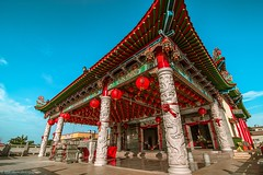 Ban Siew Keng Temple (ailoon.photography) Tags: tanglung red sunset temple chinese beautiful pray bless amazing malaysia asia traditional culture heritage old