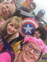 Kidfest! (Elysia in Wonderland) Tags: magic mel fairy elysia aurora sleeping beauty molly snow white pete captain america peter wolverine disney princess cosplay costume fancy dress marvellous events kidfest kid fest barrow barrowinfurness festival