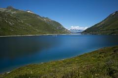 Lai da Sontga Maria @ Passo del Lucomagno (Toni_V) Tags: m2400831 rangefinder messsucher leicam mp typ240 28mm elmaritm hiking wanderung randonne escursione lukmanierpass passodellucomagno graubnden grisons grischun switzerland schweiz suisse svizzera svizra europe alps alpen laidasontgamaria stausee toniv 2016 160813