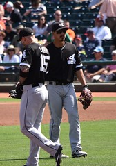 BrettLawrie adjust while TylerSaladino watches (jkstrapme 2) Tags: baseball jock cup bulge