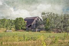 Manitoulin Barn (John Ronson Photography) Tags: manitoulin manitoulinisland barn farm manitoulinbarn texture kerstinfrank