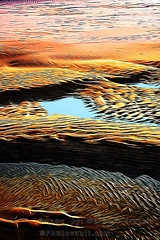 Wet Wavey Fancy Sandy Sunrise Beach (Vern Krutein) Tags: structuraltextures sand morningglow water nature textures natural patterns shapes geophysical waterearth geoform repeatingearthpatterns backgrounds abstract wavey ripples painting nwed02088