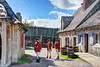 British Soldiers At Fort Michilimackinac (crookedtreephotography) Tags: fortmichilimackinac michilimackinac forts mackinawcity britishsoldiers british red soldiers shutters