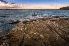 Pacific (Bill Thoo) Tags: manly sydney nsw australia pacific ocean pacificocean seascape coast landscape travel sunset sea rockpool sony a7rii samyang 14mm ngc