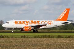 easyJet | Airbus A319 | G-EZIN | 03.09.2016 | Amsterdam - Schiphol (Maciej Deli) Tags: easyjet airbus a319 gezin amsterdam schiphol airport polderbaan