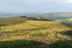 Hathersage Moor (l4ts) Tags: landscape derbyshire peakdistrict darkpeak hathersagemoor heather moorland overowlertor higgertor gritstoneedge gritstonetors goldenhour sunrise
